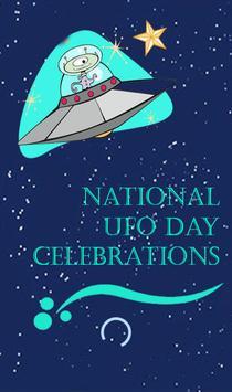 National UFO Day Celebrations poster