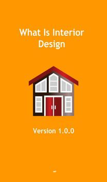 What is interior design poster
