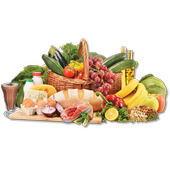Yummy healthy eating recipes icon