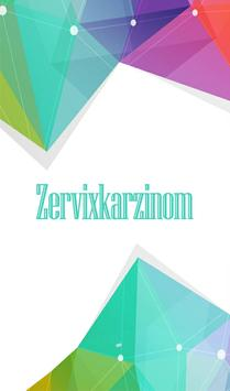 Zervixkarzinom poster