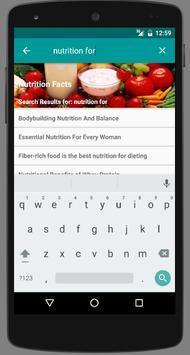 Nutrition Facts apk screenshot