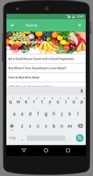 Becoming Vegetarian apk screenshot