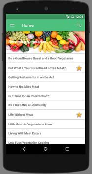 Becoming Vegetarian poster