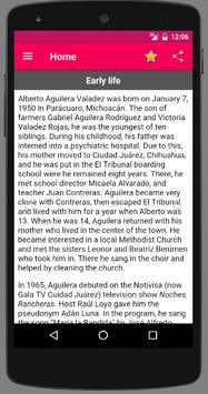 Juan Gabriel Biography apk screenshot