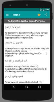 Lirik Sholawat Habib Syech apk screenshot