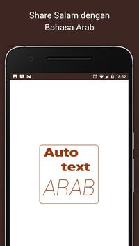 Autotext Arab New poster