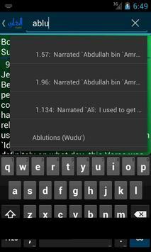 Hadith Bukhari in English apk screenshot