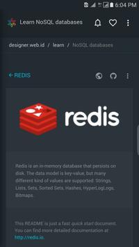 Learn NoSQL Database apk screenshot