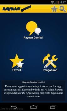 Rayuan Cinta Gombal poster