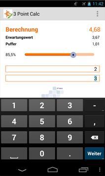 3 Point Calc Lite apk screenshot