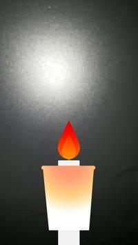candle (플래시 촛불) apk screenshot
