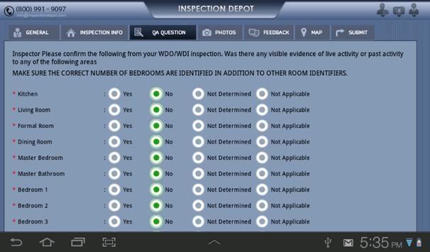 WDO Inspection apk screenshot