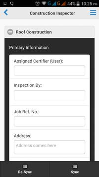 Construction Inspector apk screenshot