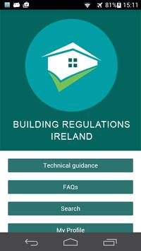 The Building Regulations IE poster