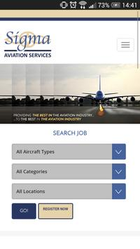 Sigma Aviation Services poster