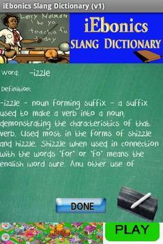iEbonics & Slang Dictionary poster