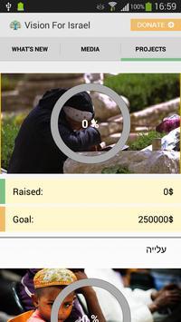 Vision For Israel apk screenshot