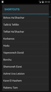 Siddur Tehillat Hashem apk screenshot