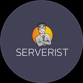 Mobile terminal SERVERIST icon