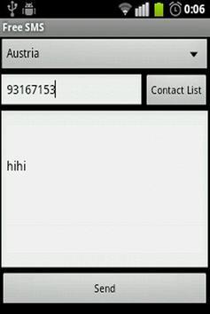 Free SMS App apk screenshot