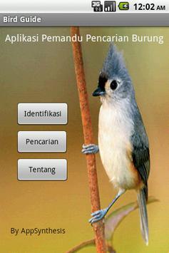 Bird Guide poster