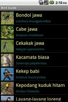 Bird Guide apk screenshot