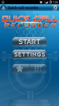 Quick Call Recorder poster