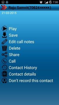 Quick Call Recorder apk screenshot