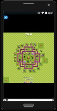 نقشه های کلش - Clash Maps apk screenshot