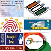 Voter Id Pan card Passport icon