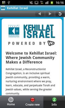 Kehillat Israel apk screenshot