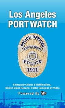 PortWatch poster