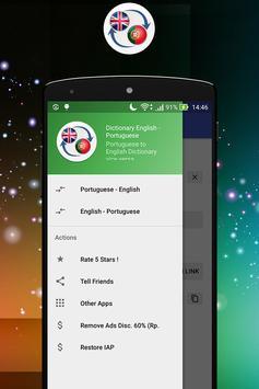 Dictionary English Brazil apk screenshot