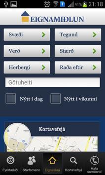 Eignamidlun apk screenshot