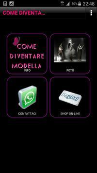 COME DIVENTARE MODELLA poster