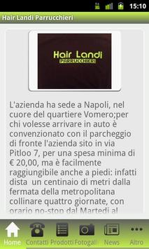 Hair Landi Parrucchieri apk screenshot