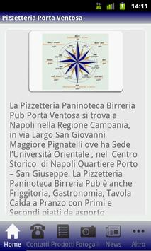 Pizzetteria Porta Ventosa poster