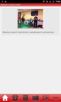 Matteos musica eventi poster