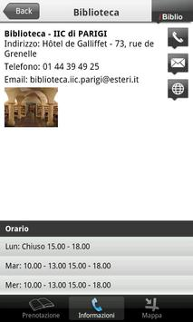 Library IIC PARIGI apk screenshot