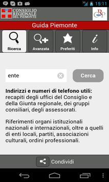 Guida Piemonte poster