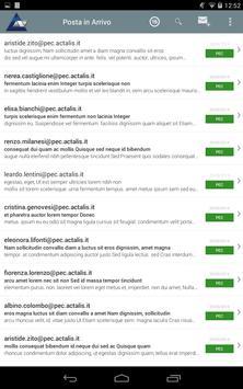 Actalis PEC Client apk screenshot