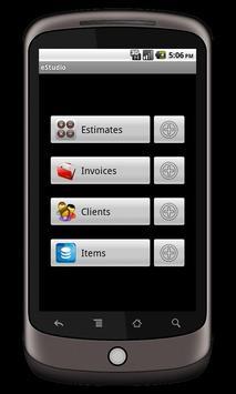 eStudio demo apk screenshot