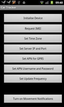 SMS GPS Car Tracker apk screenshot