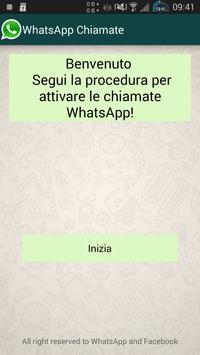 Attivazione Chiamate WhatsApp poster