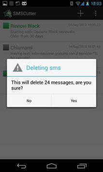 SMSCutter apk screenshot