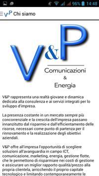 V & P poster