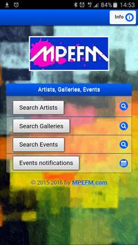 MPEFM - Art galleries search poster