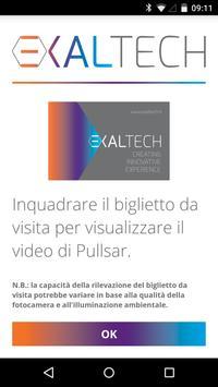 EXALTECH Business Card AR poster