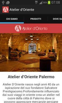 Atelier d'Oriente Palermo poster
