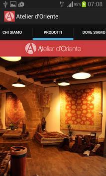 Atelier d'Oriente Palermo apk screenshot